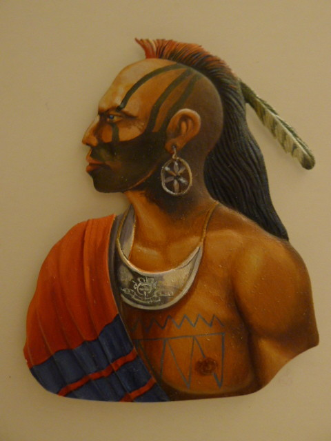 Indian Bust painted by Francis Quiquerez