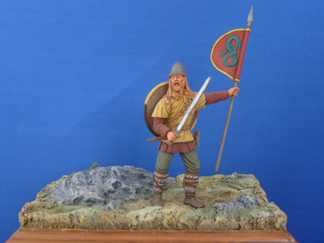 Viking standard bearer
