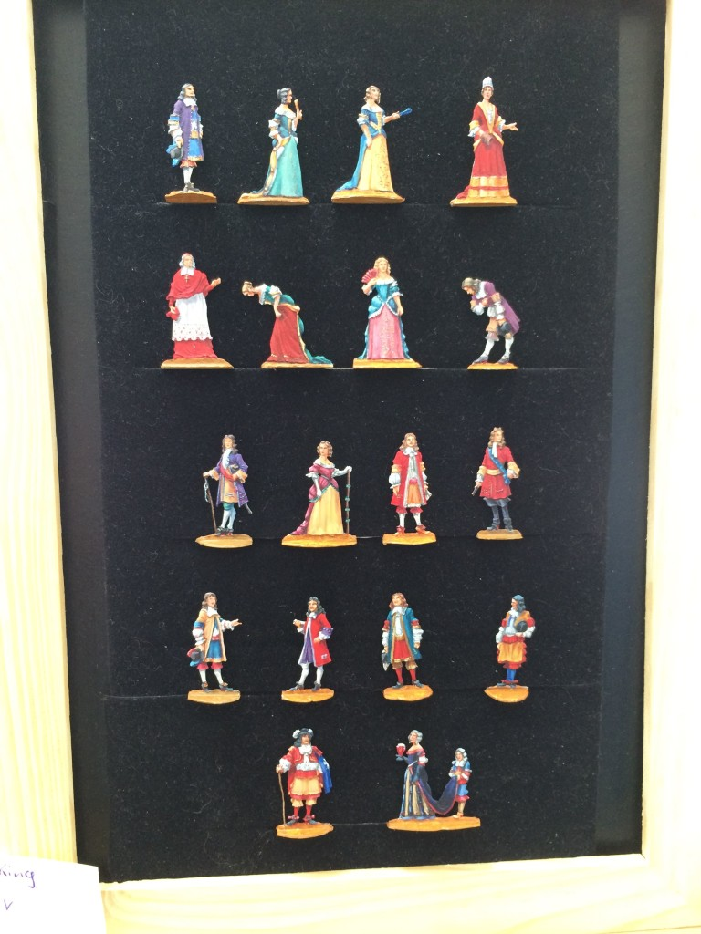 framed figures